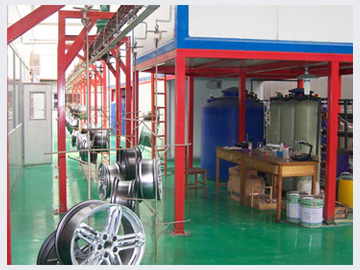 Zakład produkcji felg aluminiowych