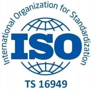 Zgodność z międzynarodowymi standardami zarządzania jakością ISO