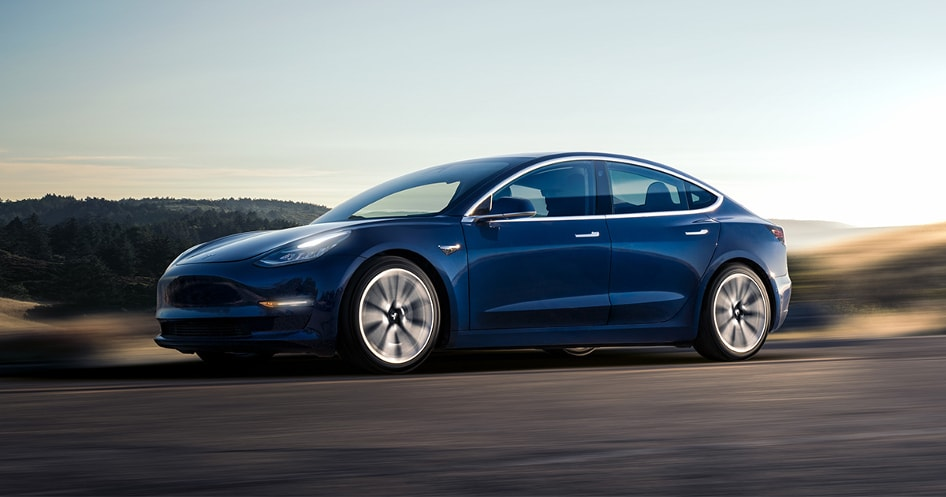 Tesla 3 - LadneFelgi.pl