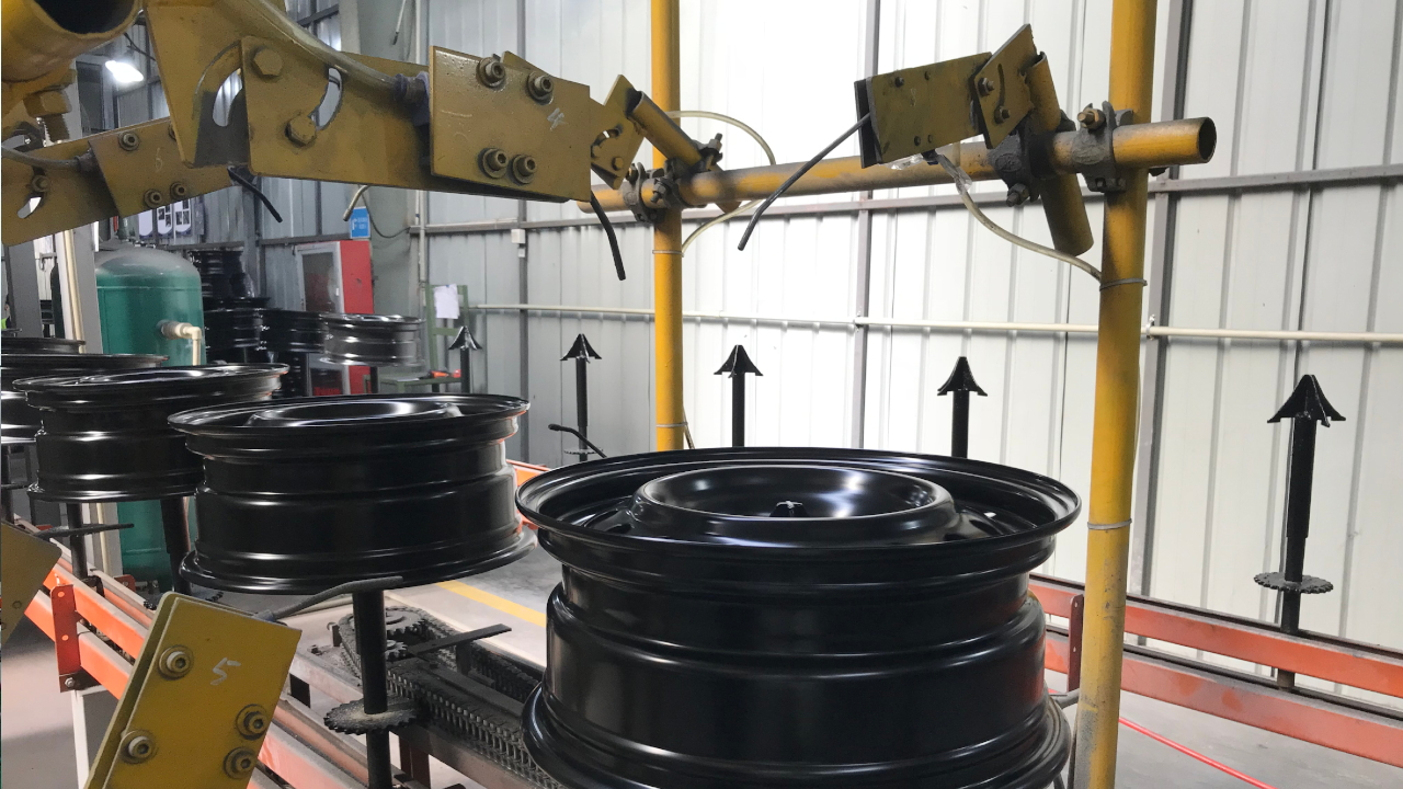 Production process of StahlRader steel wheels - ladnefelgi.pl
