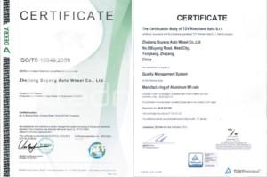 Felgi aluminiowe Racing Line certyfikaty ISO/TF - ladnefelgi.pl
