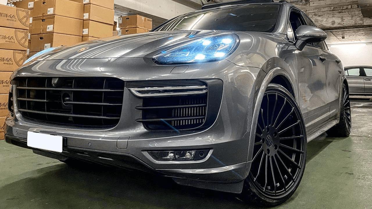 Ráfiky Haxer pre Porsche - LadneFelgi.pl