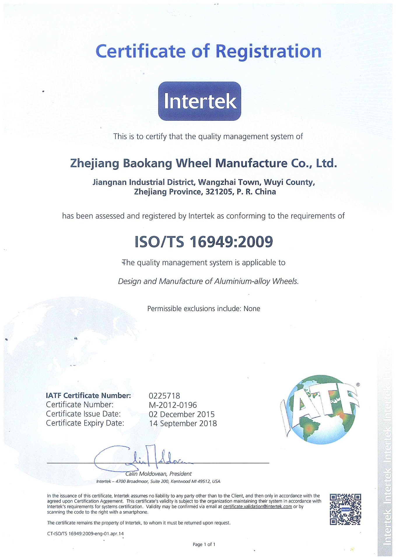 Certyfikat ISO_16949 - LadenFelgi.pl