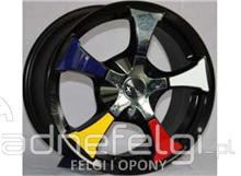 "NEW ALLOYS 15"" 4X100 4X114,3 VW, NISSAN, OPEL, RENAULT"