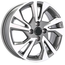 DISKY 15'' 4X100 HONDA CIVIC JAZZ CITY CRX LOGO
